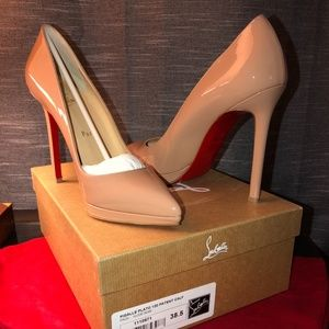 Christian Louboutin- Nude Pigalle Plato